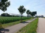 18. Juli 2014 An der Zufahrt zum Biomassekraftwerk